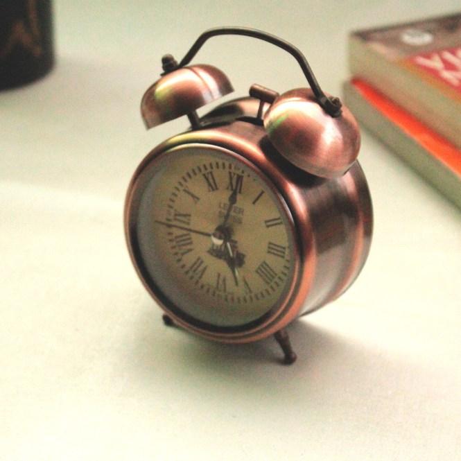 Myindianbrand Vintage Style Alarm Clock