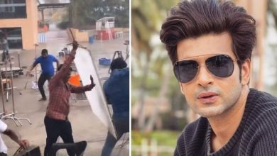 Photo of Cyclone Tauktae: Toute storm devastated set of 'Yeh Rishta Kya Kehlata Hai'