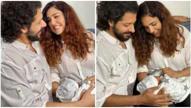 Photo of Neeti Mohan and Nihar Pandya showed the first photo of the son, also revealed the name
