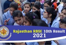 Photo of RBSE 10th Result 2021 Live Updates: Rajasthan Board 10th result to be released at 4 pm, know updates