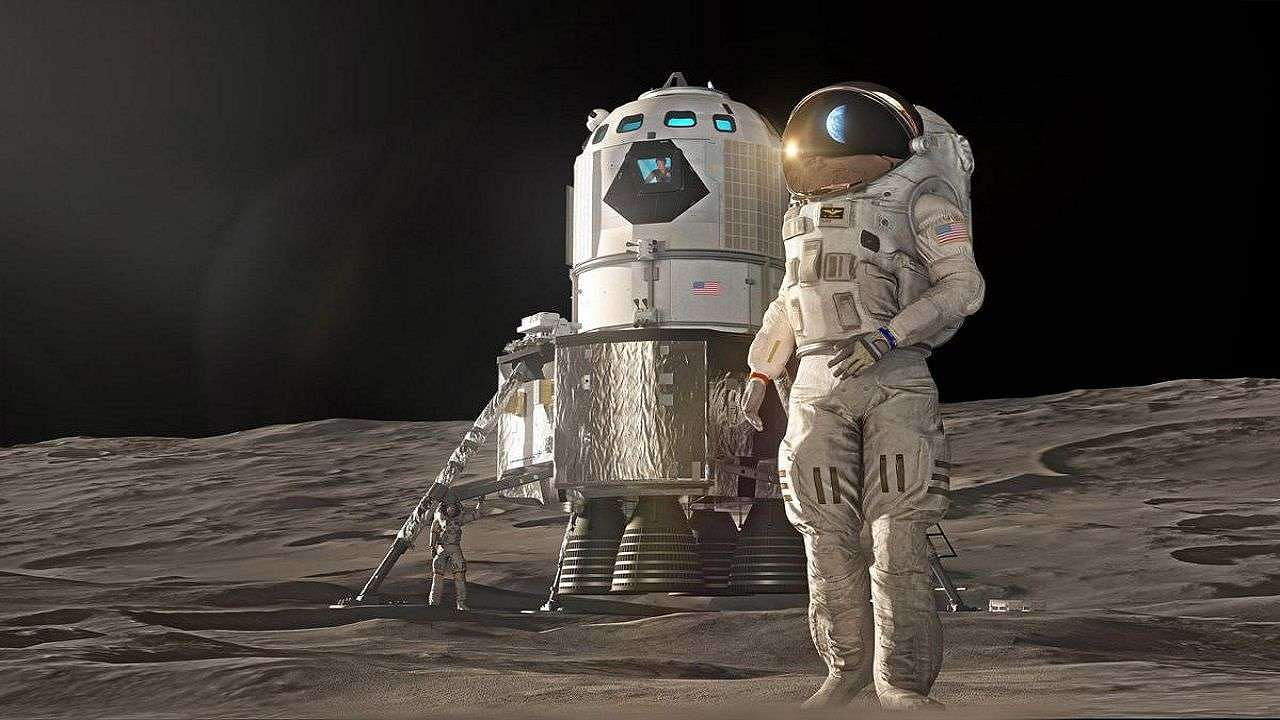 NASA is preparing to return to the moon!  Spacesuits working in space are being tested with this special 'airgun'