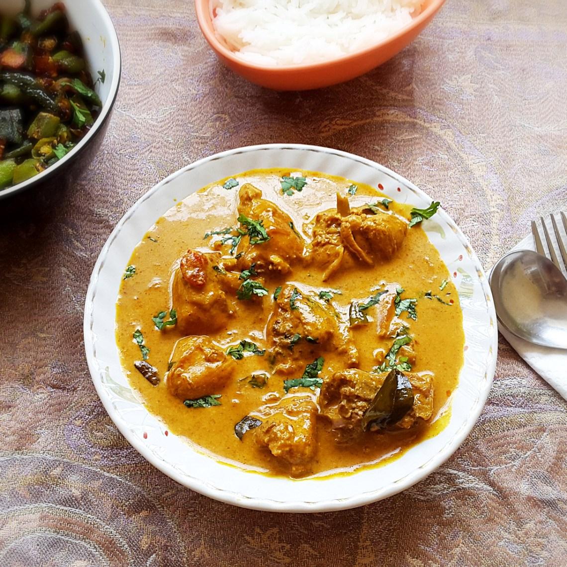 Chicken coconut curry recipe - Chicken with coconut milk ...