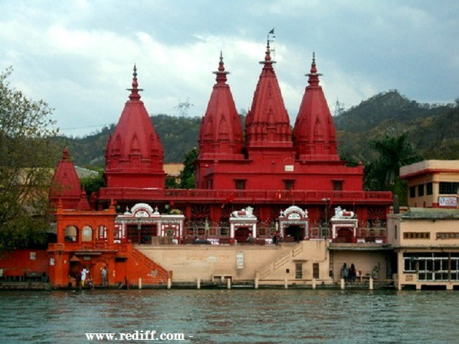Dos Grandes Ashrams de Haridwar