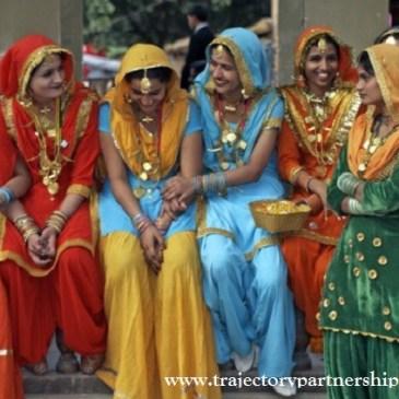 Las mujeres Indias y lo que ocultan sus adornos
