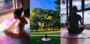"""""""Jestem pod wrażeniem…"""" – pierwsze doświadczenia i testy mat do medytacji"""