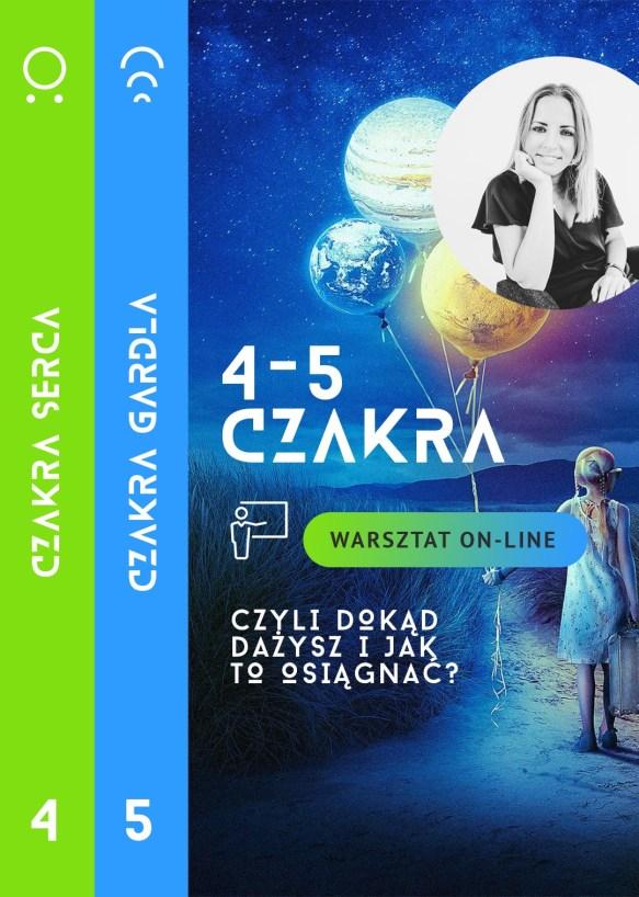 Warsztat on-line 4-5 czakra