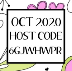October 2020 Stampin Up Host Code