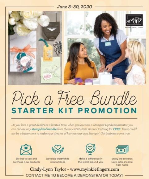 Stampin' Up! Starter Kit Promotion