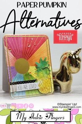 June 2020 Paper Pumpkin Alternative Card
