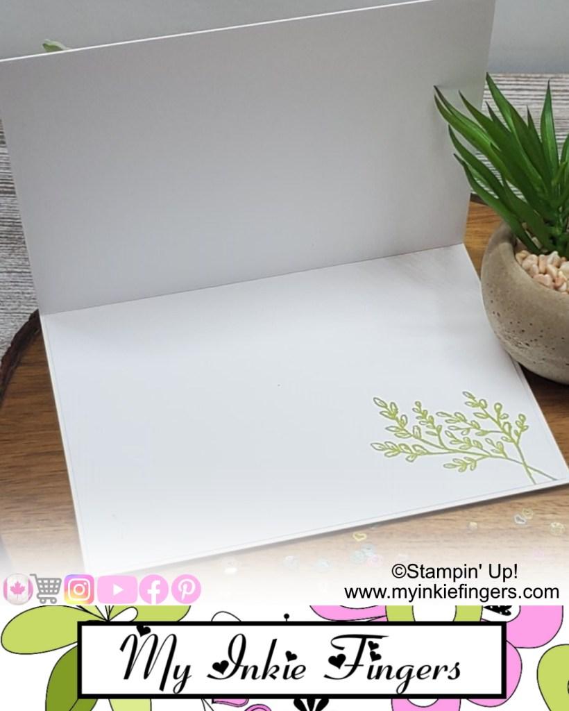 Easy Elegant Greeting Card Inside
