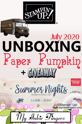 August 2020 Paper Pumpkin Giveaway