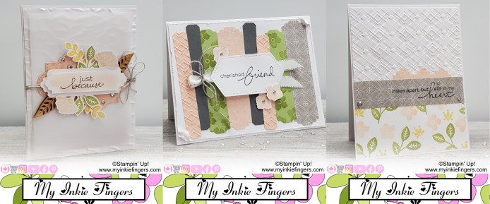 Lovely You Stampin Up Online Card Making Class August 2020 Trio