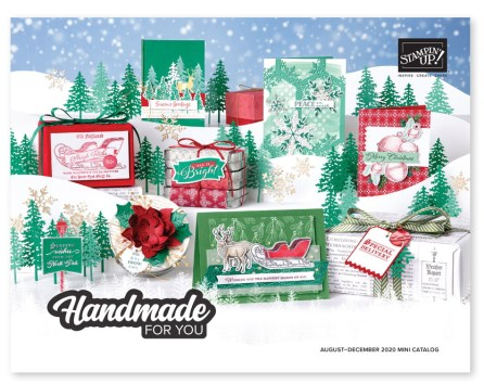 New August - December 2020 Stampin Up Mini Catalog