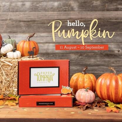 Hello Pumpkin September 2020 Paper Pumpkin Kit