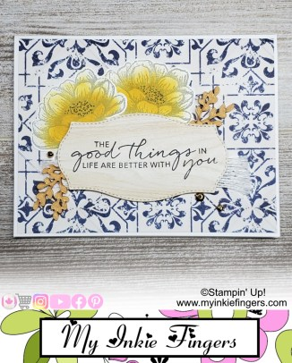 EASY Stampin Up Cards | Pattern Paper For Cards | How to make hand made cards