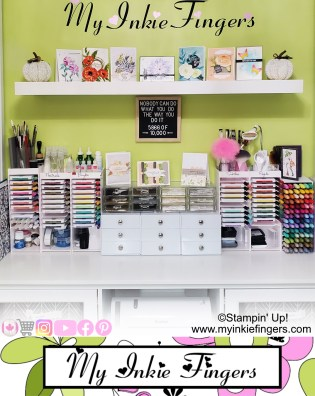 Dream Craft Room Tour - Stamp Room Tour - Craft Room Tour 2020 IG
