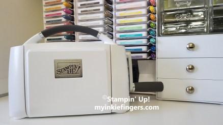 New Stampin' Cut & Emboss Machine My Inkie Fingers
