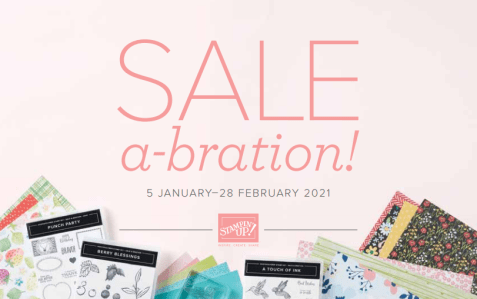 Stampin' Up! Sale-A-Bration 2021 Catalog