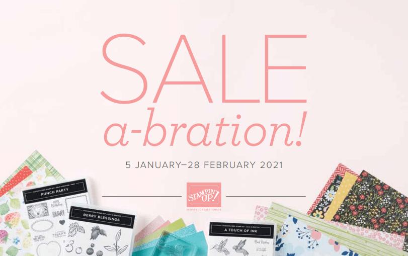 Stampin' Up! Sale-A-Bration 2021 Catalog