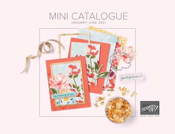 January - June 2021 Stampin' Up! Mini Catalog