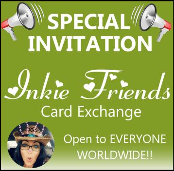 My Inkie Fingers Card Exchange