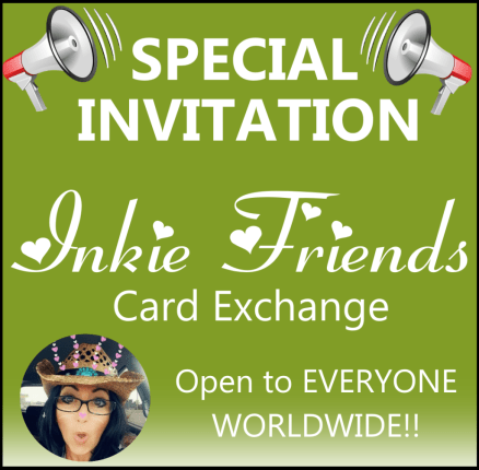 My Inkie Fingers Card Exchange