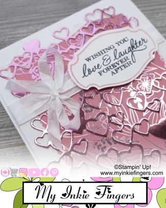 30 Cards in 30 Days - Day 15 - Anniversary Cards - My Inkie Fingers