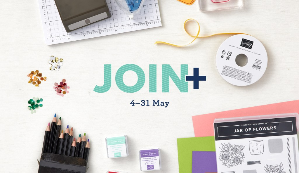 Stampin' Up! Join Special 2021!