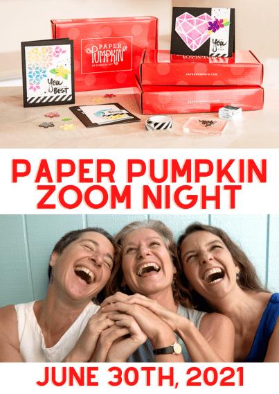 Stampin Up Paper Pumpkin Stamping Night