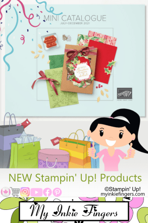 Stampin' Up July - December 2021 Mini Catalog Unboxing