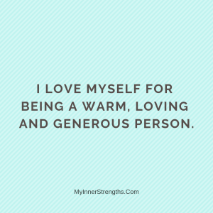 %name Love Affirmations 4 | My Inner Strengths