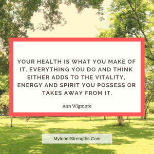%name Health Affirmations and quotes | My Inner Strengths1