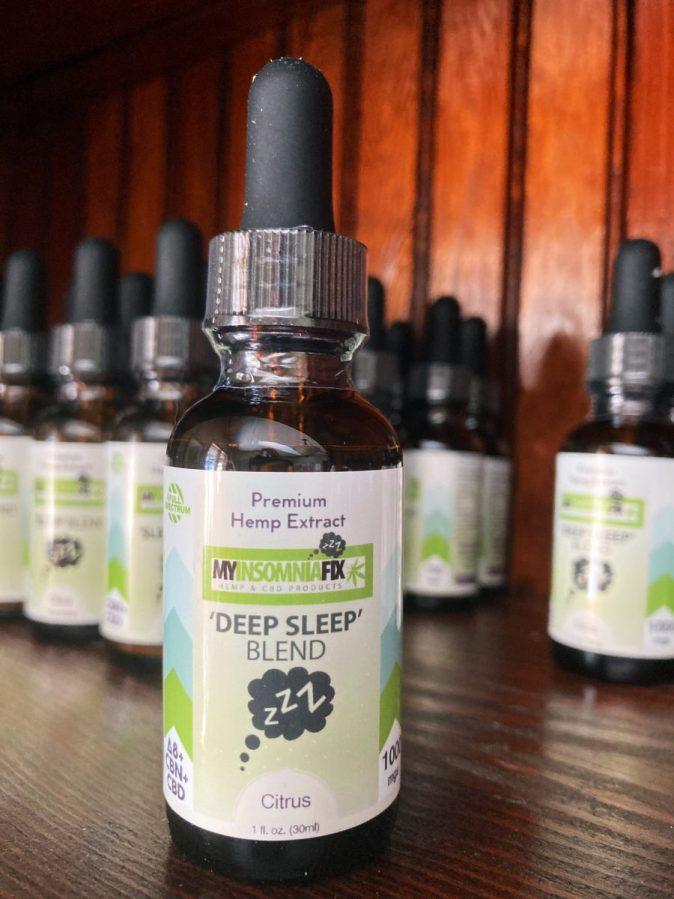 Deep Sleep Blend - CBD, CBN & Delta 8
