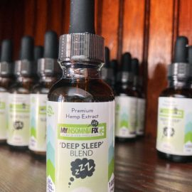 Deep Sleep Blend - CBD, CBN & Delta 8