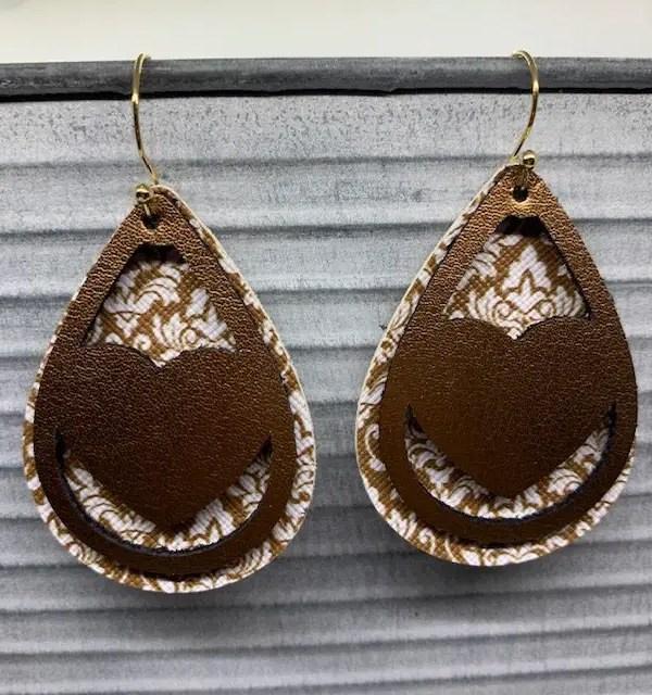 DIY Valentine's Day Earrings