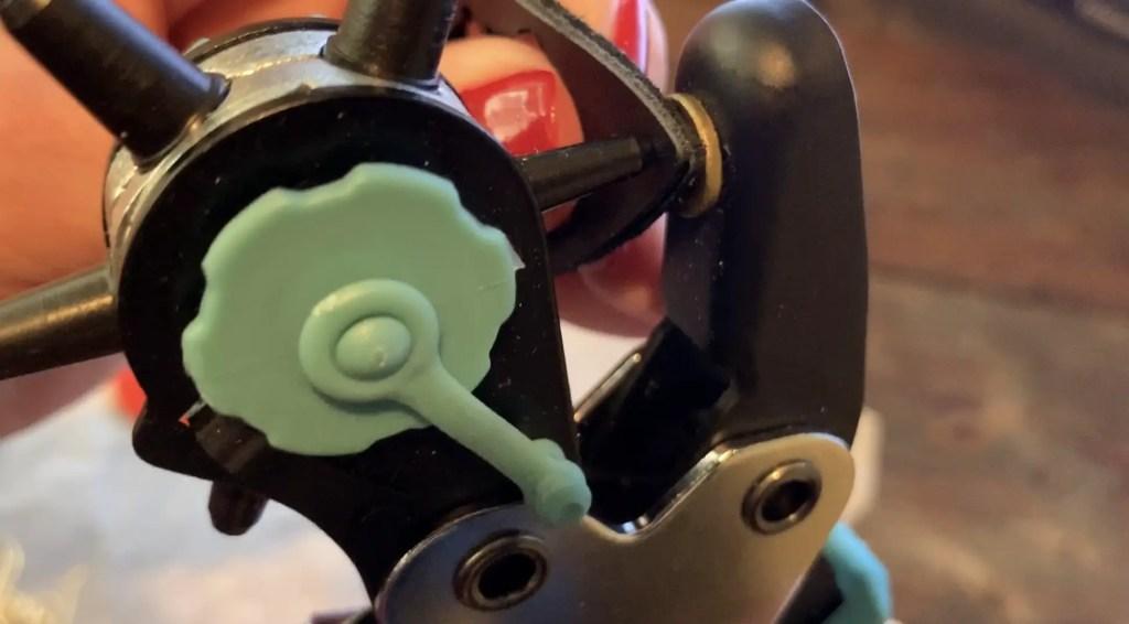 Punching holes in leather diy earrings for making LOVE earrings diy
