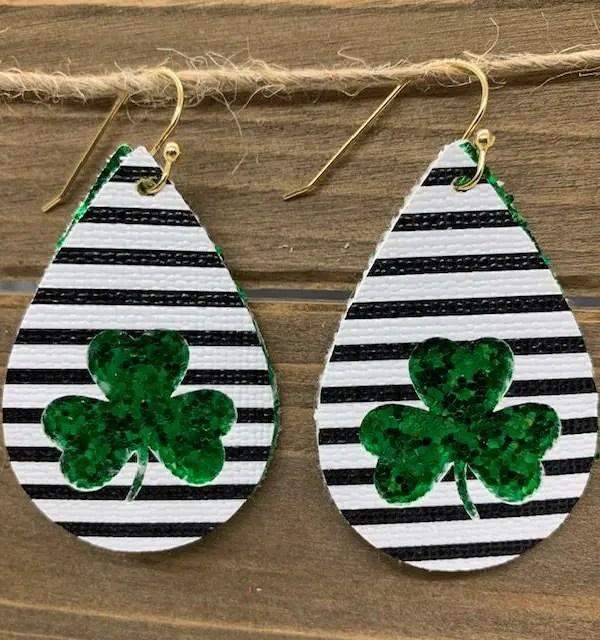 St. Patrick's Day Earrings  DIY