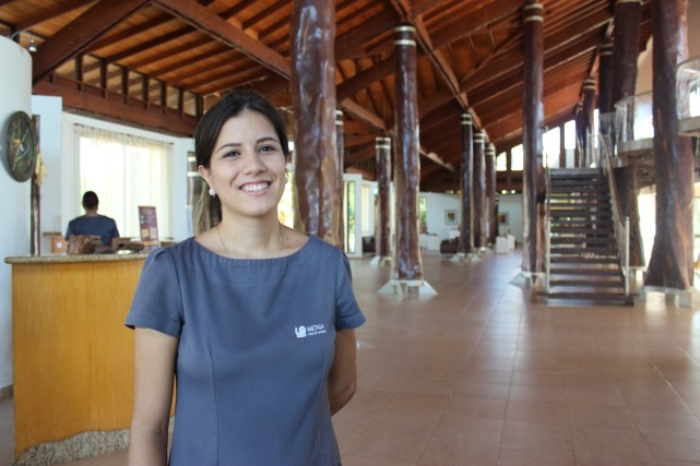 Emily, at Hotel Wetiga
