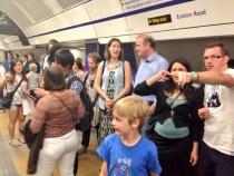 Hub Crawlers getting on the Tube