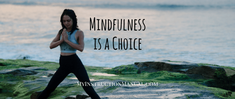 Mindfulness is a Choice