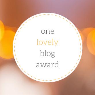 Logo for One Lovely Blog Award