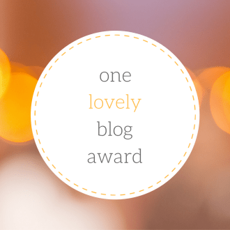 Logo for One Lovely Blog Award