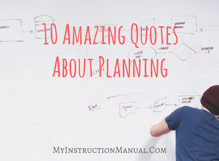 10 Amazing Quotes About Planning - My Instruction Manual