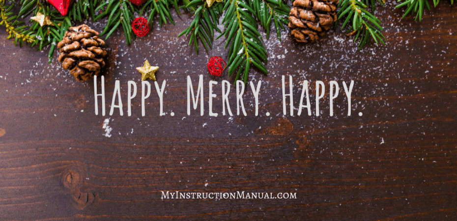 Happy Hanukkah. Merry Christmas. Happy New Year. | My Instruction Manual