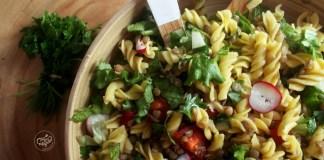 Salada Espiral com Lentilhas Verdes