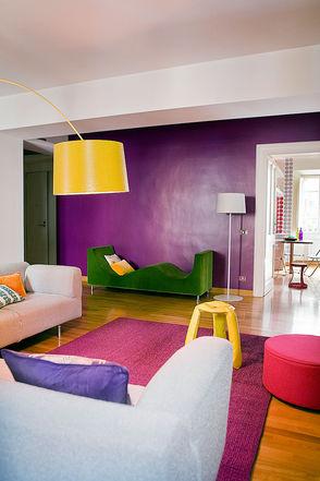 colori pastello per pareti di un soggiorno classico. Di Che Colore Dipingere Le Pareti Architettura E Design A Roma