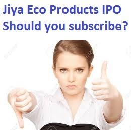 Jiya Eco Products Limited IPO