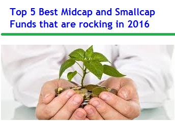 Top 5 Best Midcap and Smallcap Funds of 2016