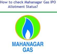 How to check Mahanagar Gas IPO Allotment Status?