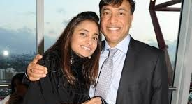 Vanisha Mittal daughter lakshmi mittal
